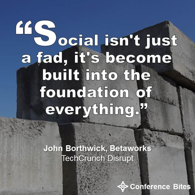 John Borthwick - TechCrunch Disrupt