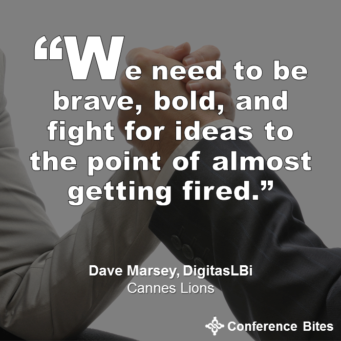 Dave Marsey - Cannes Lions