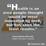 Kara Swisher - Health Innovation Summit