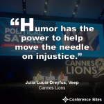 Julia Louis-Dreyfus - Cannes Lions