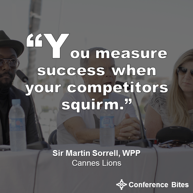 Sir Martin Sorrell - Cannes Lions