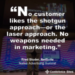 Fred Studer - Native Advertising Summit