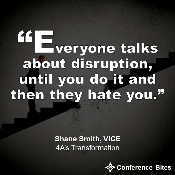 Shane Smith at #4AsTransformation