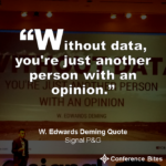 W. Edwards Deming Quote at #SignalPG